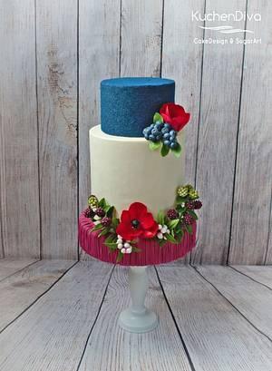 Berry Sweet - Cake by KuchenDiva