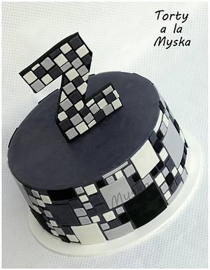 squares squares squares - Cake by Myska