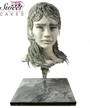 Sugar Art Museum : The Fisherman's daughter sculpture - Cake by Sweet Creations Cakes