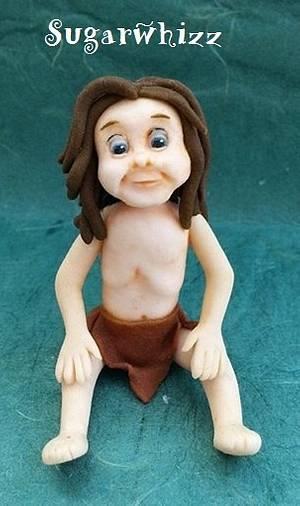 Tarzan figure - Cake by Sugarwhizz