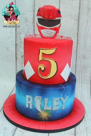 Power Rangers!! - Cake by DusiCake