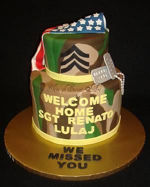 camouflage cake - Cake by Slice of Sweet Art