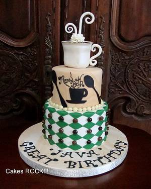 Java Great Birthday! - Cake by Cakes ROCK!!!