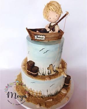 Sea cake - Cake by Branka Vukcevic