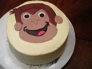 Curious George - Cake by Maureen