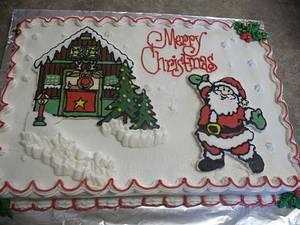 Christmas Cake - Cake by cher45