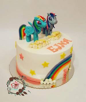 Sparkle Ponny - Cake by Zerina