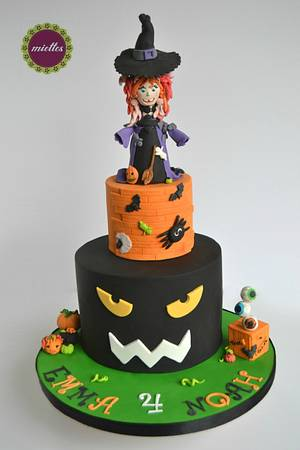 Halloween Birthday Cake - Cake by miettes