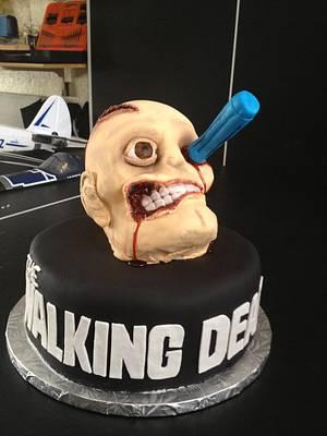 Walking Dead Cake - Cake by Emily Foley