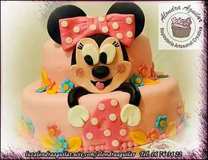 My Sweet Minnie - Cake by Alondra Aguilar