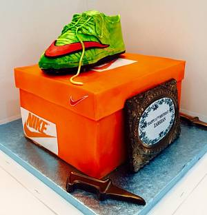 Nike cake  - Cake by Tiers of joy