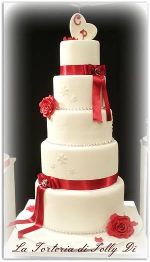 WEDDIN CAKE - Cake by La Torteria di Polly Dì