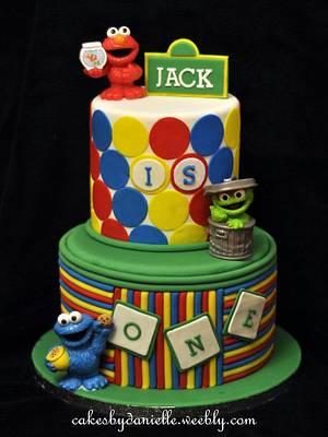 Sesame Street - Cake by CBD