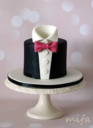 Groom - Cake by Michaela Fajmanova