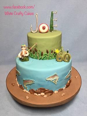 Fishing Cake - Cake by Toni (White Crafty Cakes)