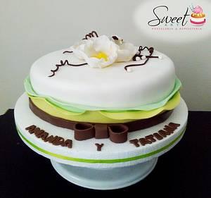 TORTA FLORES - Cake by Sweet Art Pastelería & repostería