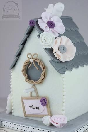 Birdhouse cake - Cake by Natasha Thomas
