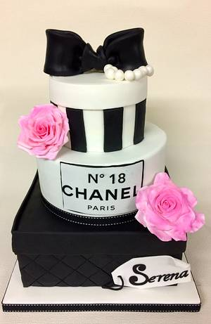 18th Chanel Birthday Cake - Cake by Sweet Factory