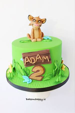 The Lion King - Cake by Elaine Boyle....bakemehappy.ie