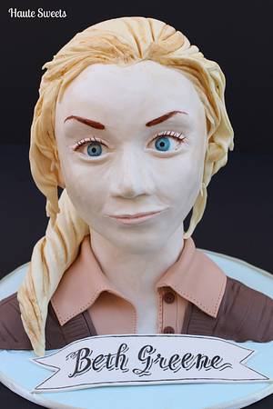 Beth Greene ( The Walking Dead TV series character ) - Cake by Hiromi Greer