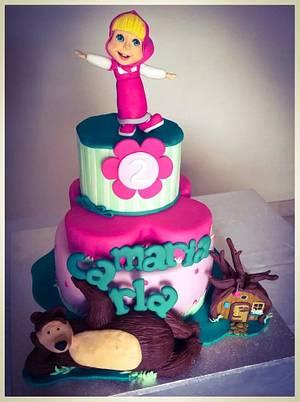 MASHA & Bear - Cake by donatellacakes72