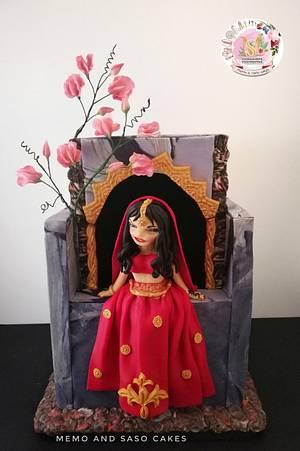 Beautiful Sri Lanka collaboration - beautiful bride  - Cake by Mero Wageeh