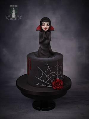 Vampire cake - Cake by Twister Cake Art
