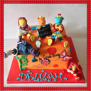 Tweenies cake  - Cake by sarahtosney