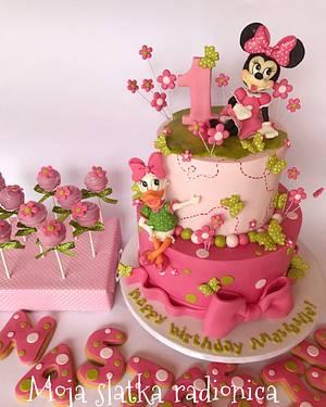 First birthday cake - Cake by Branka Vukcevic