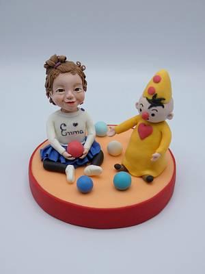 Little girl  - Cake by Olina Wolfs