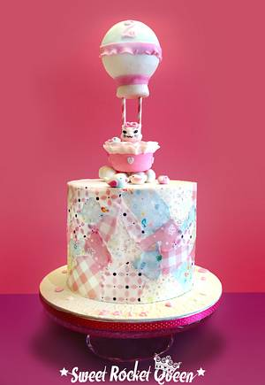 Up, Up, Away ...and Meowwww! - Cake by Sweet Rocket Queen (Simona Stabile)