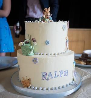 Beatrix Potter Christening - Cake by Fifi's Cakes