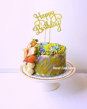 Simple red velvet cake  - Cake by Shorna's Cake Corner
