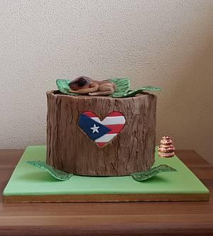 Puerto Rico Rises, Cake Collaboration - Cake by Pluympjescake