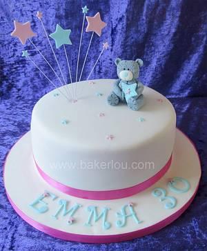 Tatty Teddy Cake - Cake by Louise