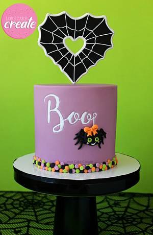 Halloween Spider Cake - Cake by Love Cake Create