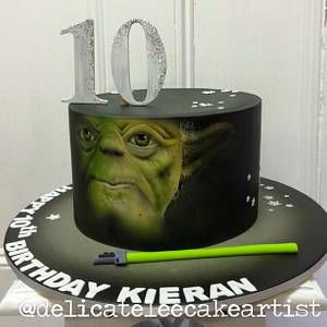 may the Force be with YO...DA.. - Cake by Delicate-Lee