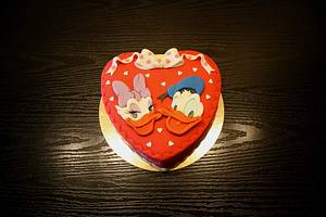 Donald and Daisy - Cake by Rozy
