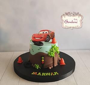 Cars - Cake by mona ghobara/Bonboni Cake
