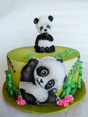 Panda cake - Cake by Veronika
