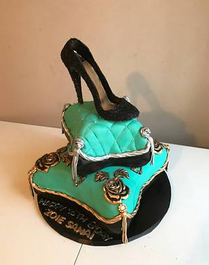 A Little Glamour - Cake by It Takes The Cake