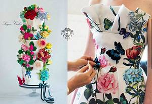 Couture Cakers Collaborations - Cake by Sugar Cakes