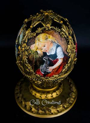 Fabergé Egg - Cake Masters Magazine - Cake by Calli Creations