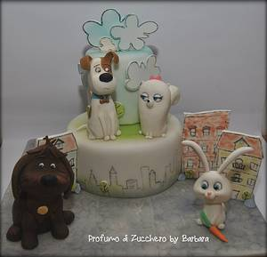 Secret life of pets - Cake by Barbara Mazzotta