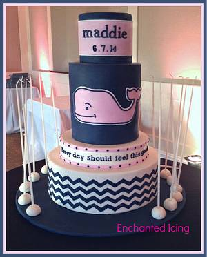 Whale of a Cake! - Cake by Enchanted Icing