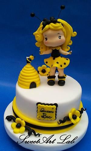 Queen Bee - Cake by  Michela Barocci - Sugar Artist