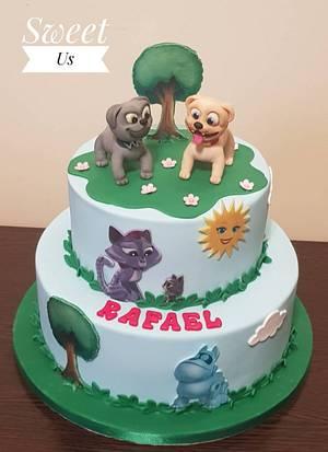 Puppy dog pals :D cake  - Cake by Gabriela Doroghy