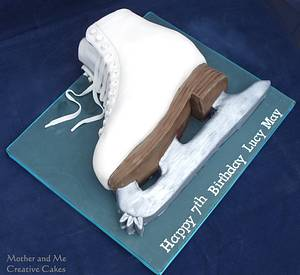 Ice Skating Boot - Cake by Mother and Me Creative Cakes