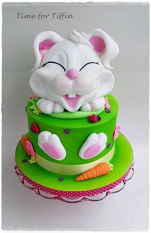 Bunny cake  - Cake by Time for Tiffin