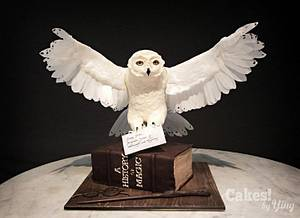 Harry's Hedwig (CakeFlix Collaboration)  - Cake by Cakes! by Ying